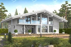 Строительство домов в КП «Охтинский Парк»