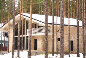 Строительство домов в КП «Пески-29»